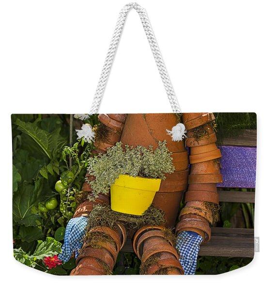 Planter Pot Man Weekender Tote Bag