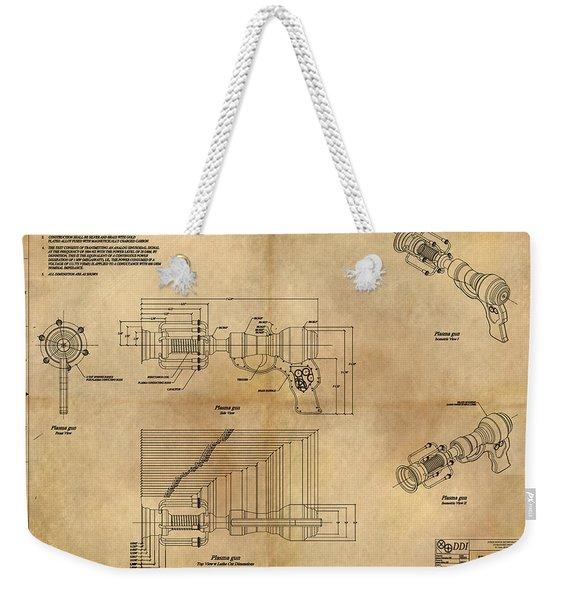 Plasma Gun Weekender Tote Bag