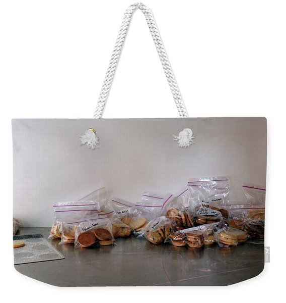 Plastic Bags Of Cookies Weekender Tote Bag