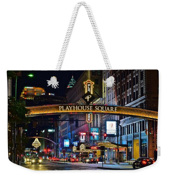 Playhouse Square Weekender Tote Bag