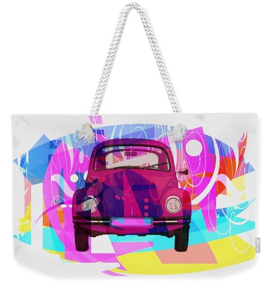 Playing Shapes Cars 02 Weekender Tote Bag