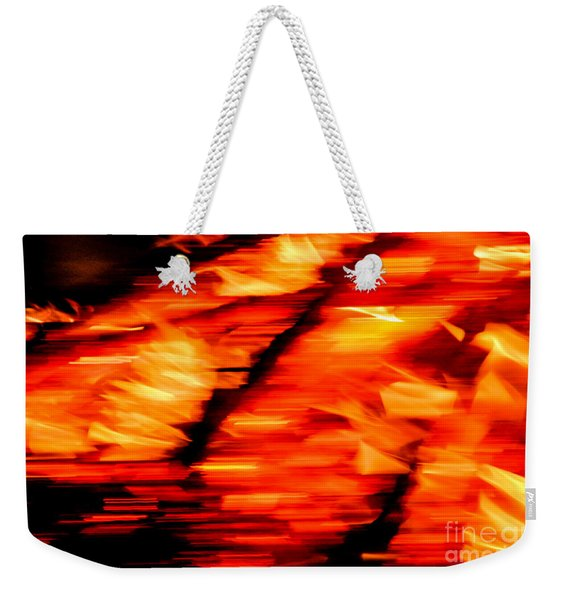 Playing With Fire 2 Weekender Tote Bag