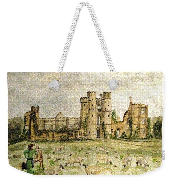 Plein Air Painting At Cowdray House Sussex Weekender Tote Bag