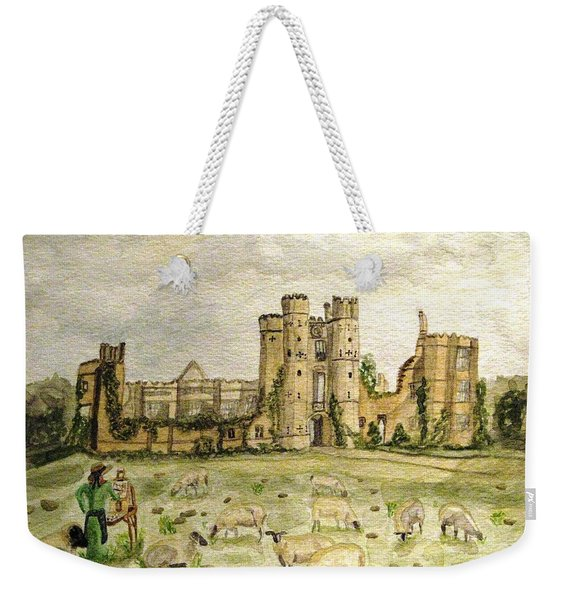 Plein Air Painting At Cowdray House Sussex Weekender Tote Bag
