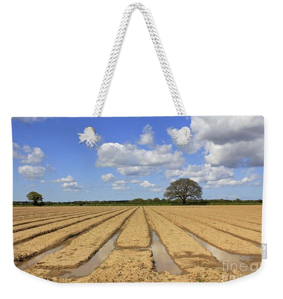 Ploughed Field Weekender Tote Bag