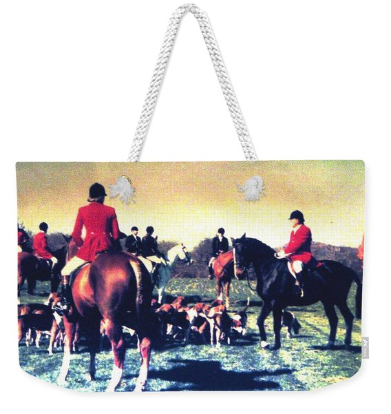 Plum Run Hunt Opening Day Weekender Tote Bag