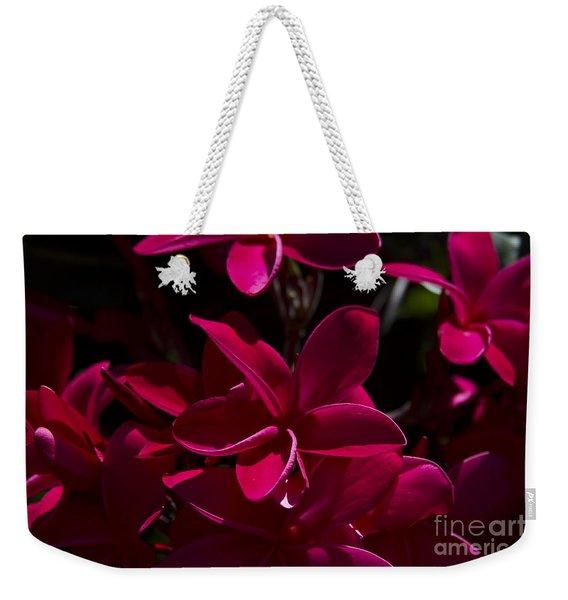 Plumeria Rubra Weekender Tote Bag