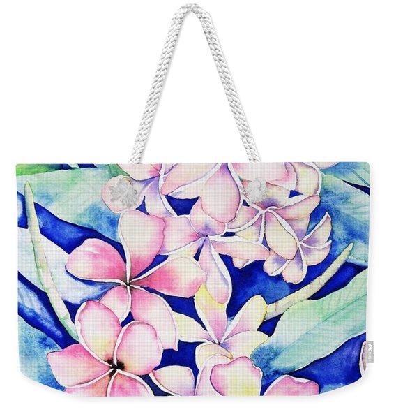 Plumerias Of Maui Weekender Tote Bag