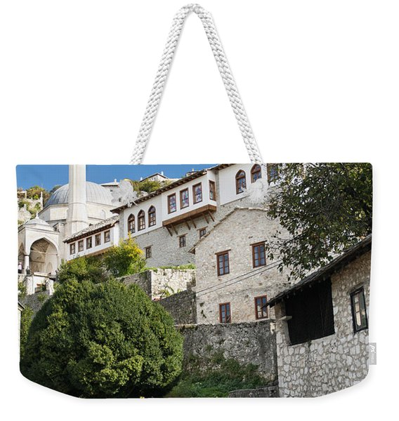 Pocitelj Village Near Mostar In Bosnia  Weekender Tote Bag