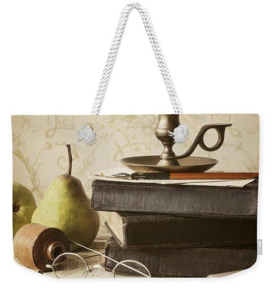 Poet's Corner Weekender Tote Bag