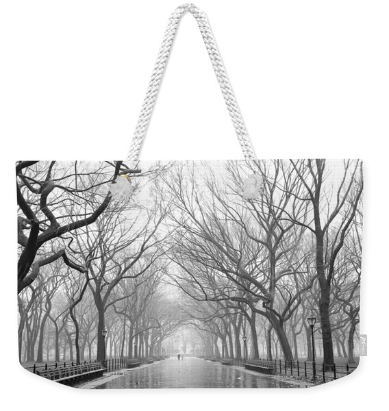 New York City - Poets Walk Central Park Weekender Tote Bag