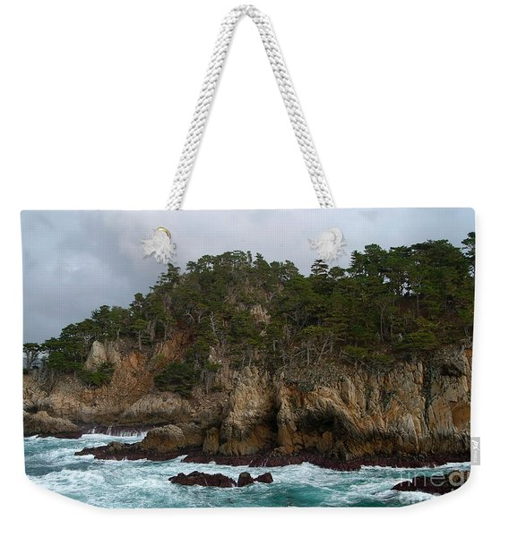 Point Lobos Coastal View Weekender Tote Bag
