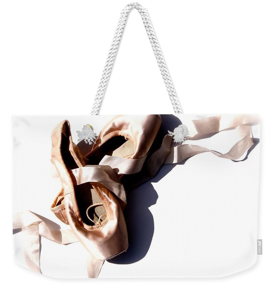 Pointe Shoes Weekender Tote Bag