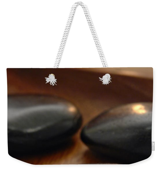 Polished Stones In A Spa Weekender Tote Bag