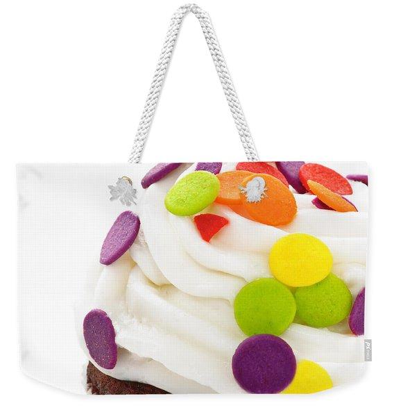 Polka Dot Cupcake Weekender Tote Bag