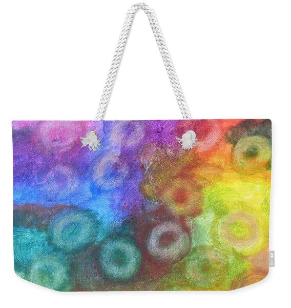Polychromatic Rbc's Weekender Tote Bag