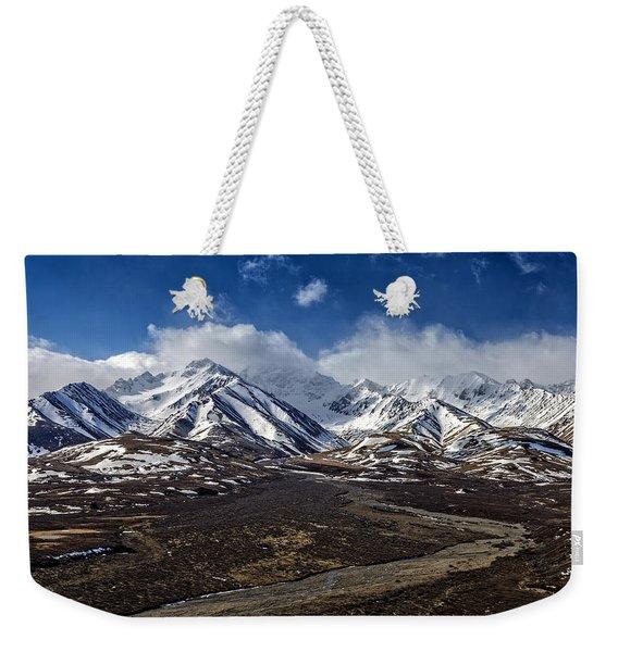 Polychrome Pass Weekender Tote Bag