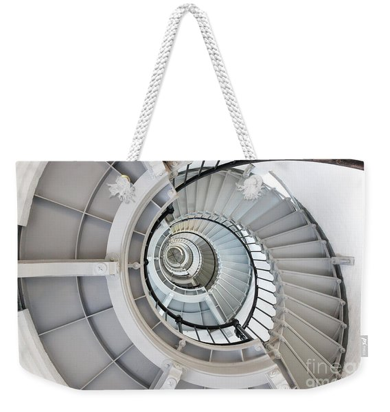 Ponce De Leon Inlet Lighthouse Staircase Weekender Tote Bag
