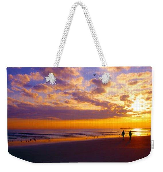 Ponce Inlet Fl Sunrise  Weekender Tote Bag