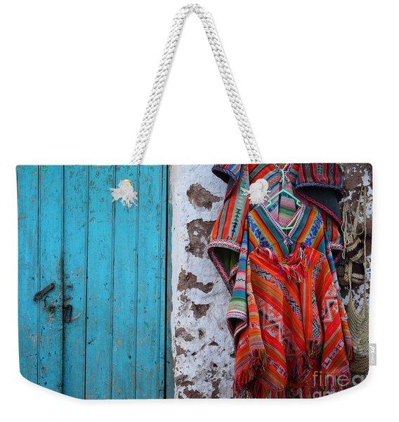 Ponchos For Sale Weekender Tote Bag