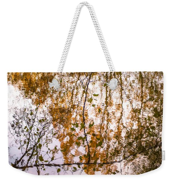 Pond Reflections #3 Weekender Tote Bag
