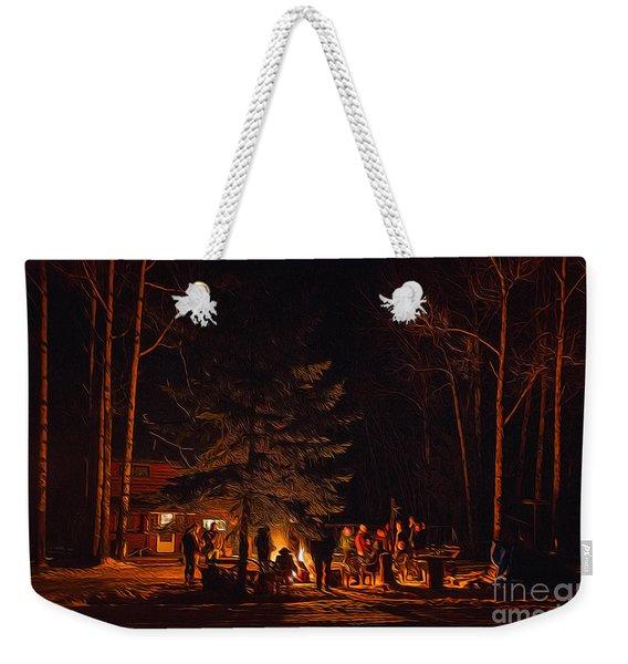 Ponderosa Christmas '14 Weekender Tote Bag