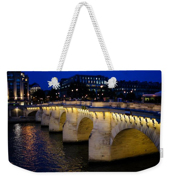 Pont Neuf Bridge - Paris - France Weekender Tote Bag