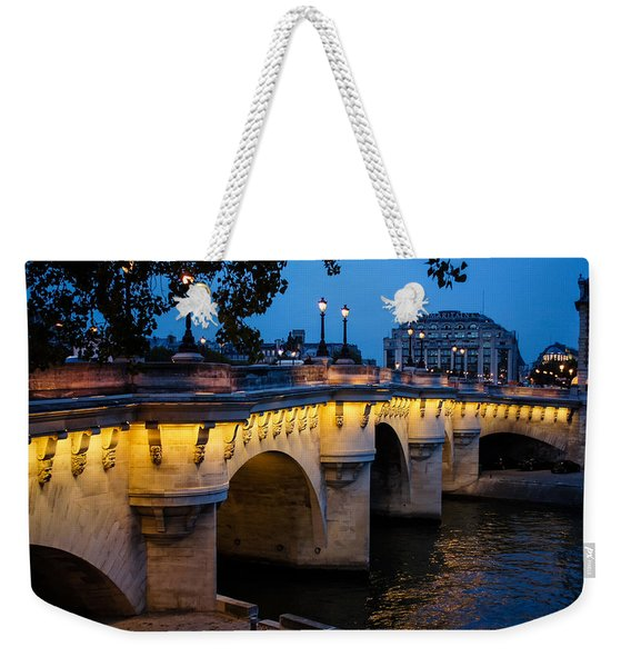 Pont Neuf Bridge - Paris France Weekender Tote Bag