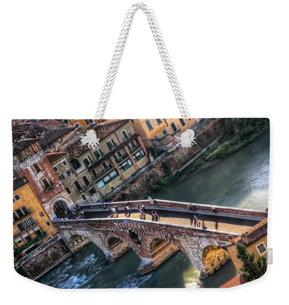 Ponte Pietra Verona Weekender Tote Bag