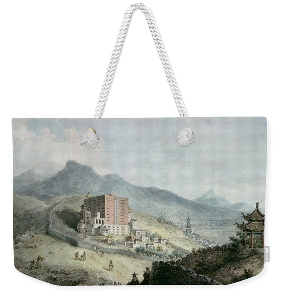 Poo Ta La, Or Great Temple Of Fo, Near Zehol,tibet, China Weekender Tote Bag