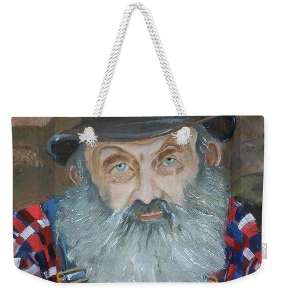 Popcorn Sutton - Moonshiner - Portrait Weekender Tote Bag