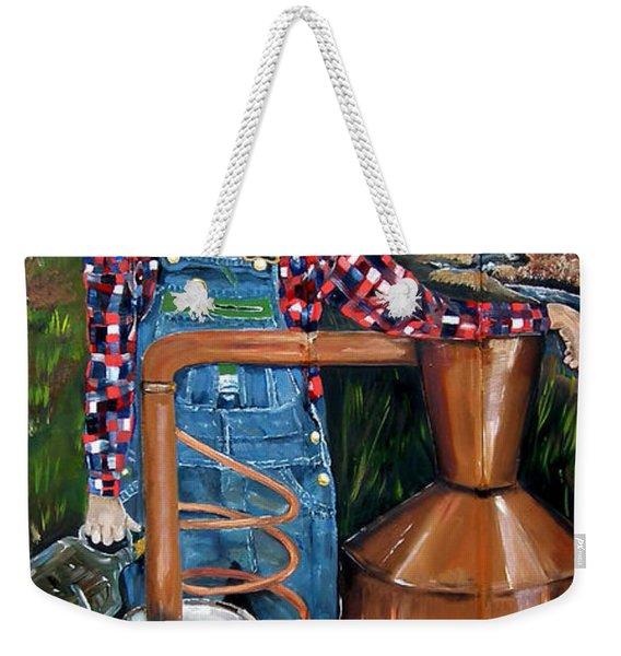 Popcorn Sutton - Moonshiner - Redneck Weekender Tote Bag