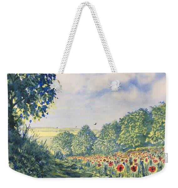 Poppies A'plenty Weekender Tote Bag