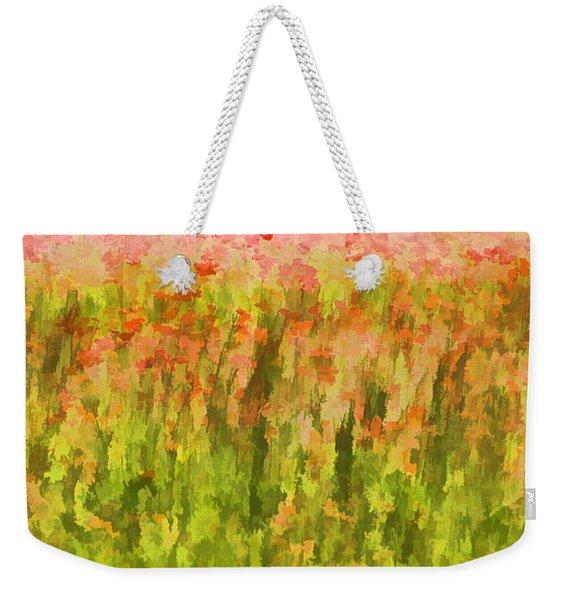 Poppies Of Tuscany IIi Weekender Tote Bag