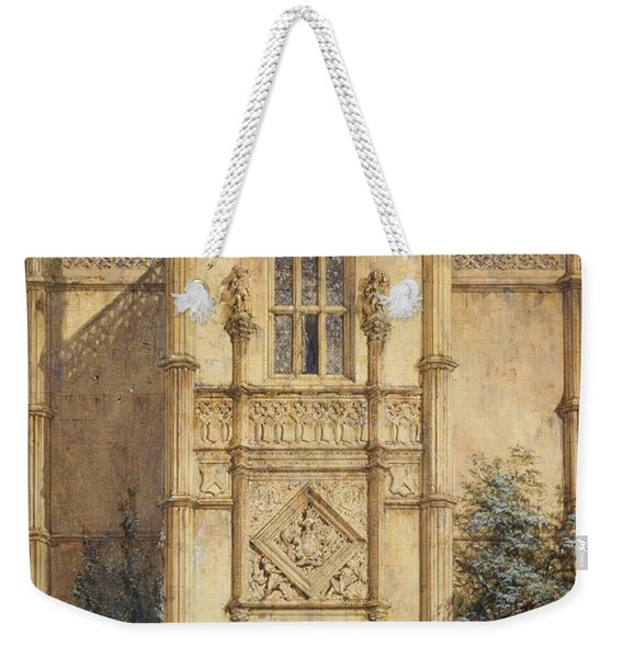Porch At Montacute, 1842 Weekender Tote Bag