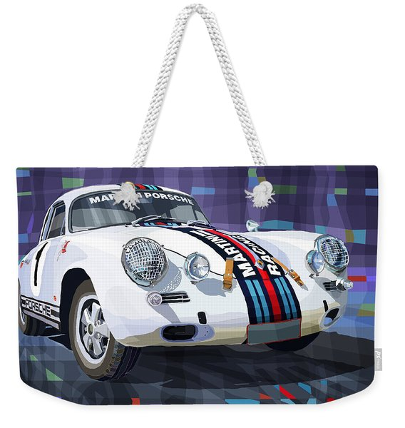 Porsche 356 Martini Racing Weekender Tote Bag