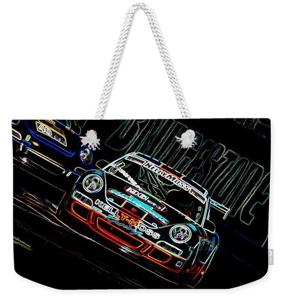 Porsche 911 Racing Weekender Tote Bag
