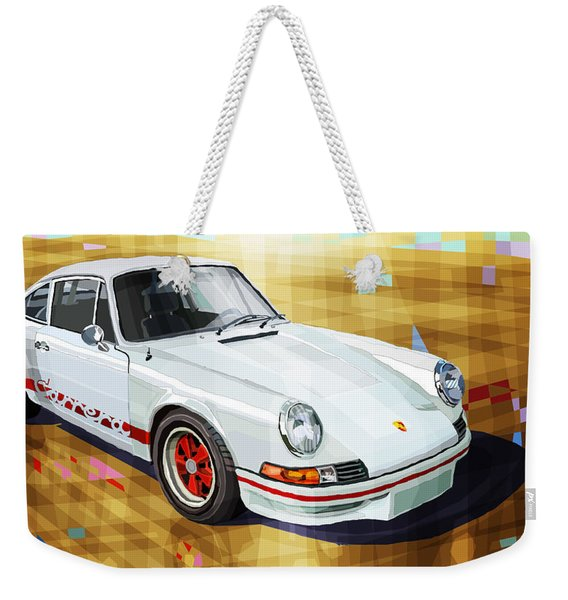 Porsche 911 Rs Weekender Tote Bag