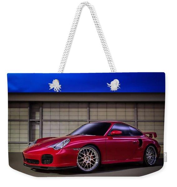 Porsche 911 Twin Turbo Weekender Tote Bag