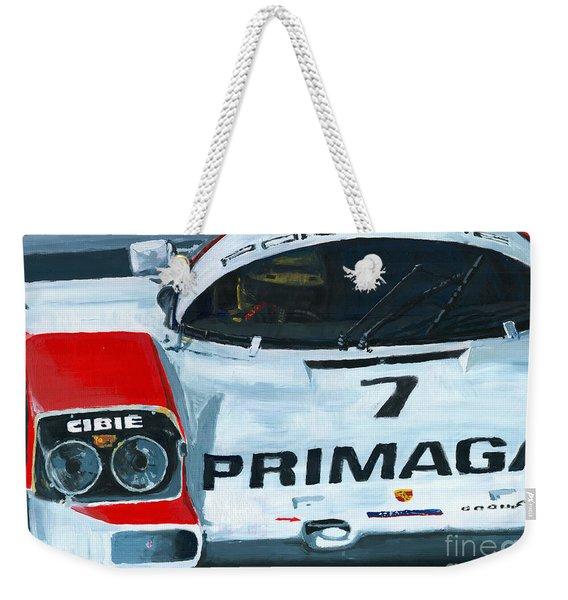 Porsche 962 Le Mans 24 Weekender Tote Bag