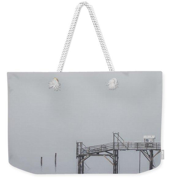 Port Of Mystery Weekender Tote Bag