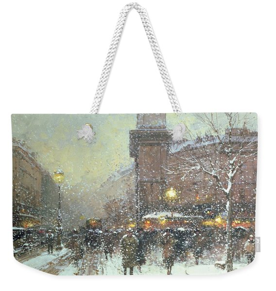 Porte St Martin In Paris Weekender Tote Bag
