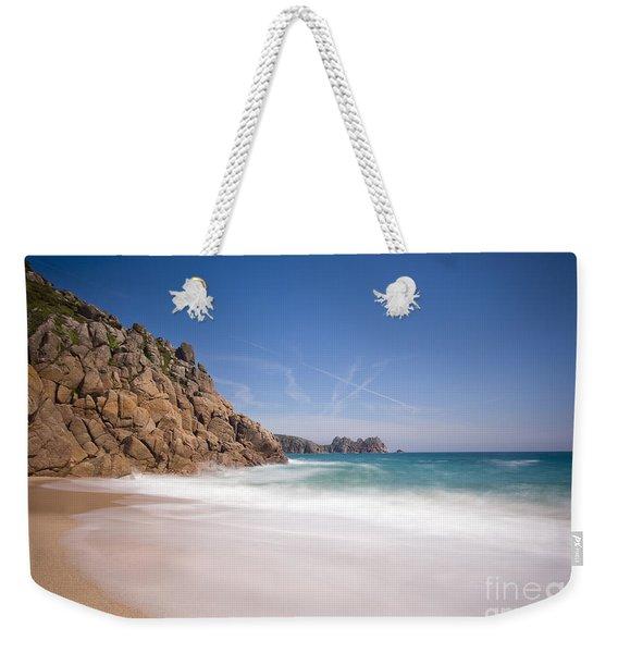 Porthcurno Beach Weekender Tote Bag
