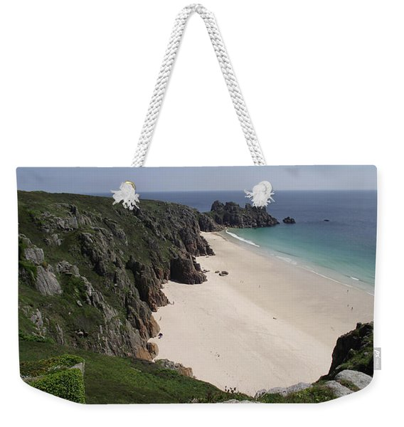Porthcurno Cove Weekender Tote Bag