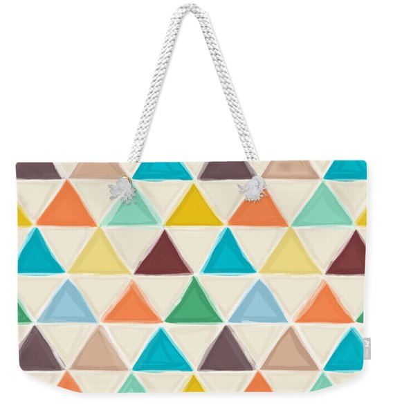 Portland Triangles Weekender Tote Bag