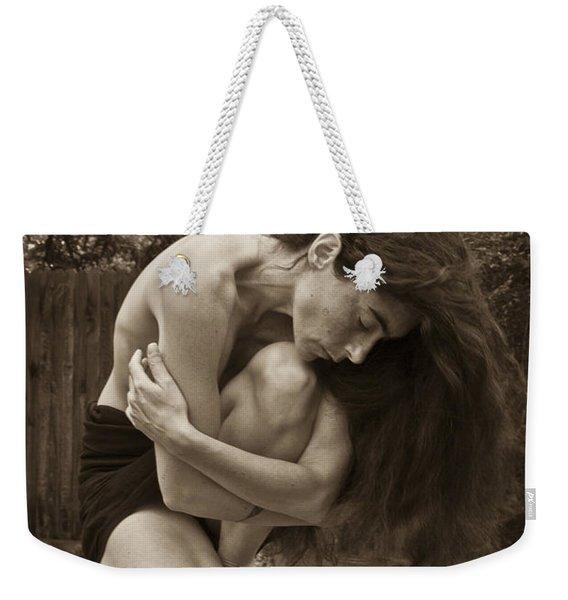 Portrait 5 Weekender Tote Bag