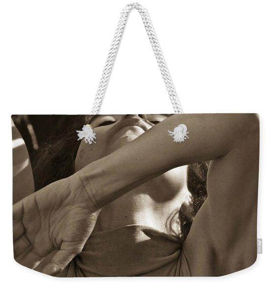 Portrait 9 Weekender Tote Bag