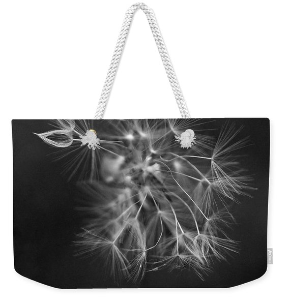 Portrait Of A Dandelion Weekender Tote Bag