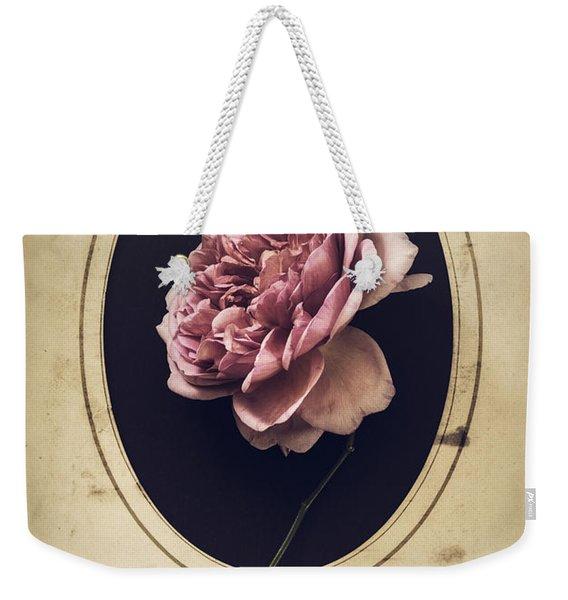 Portrait Of A Rose Weekender Tote Bag