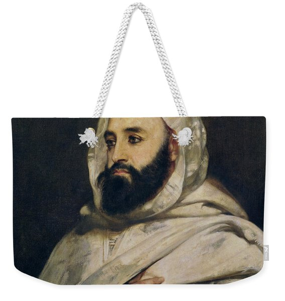 Portrait Of Abd El-kader Weekender Tote Bag